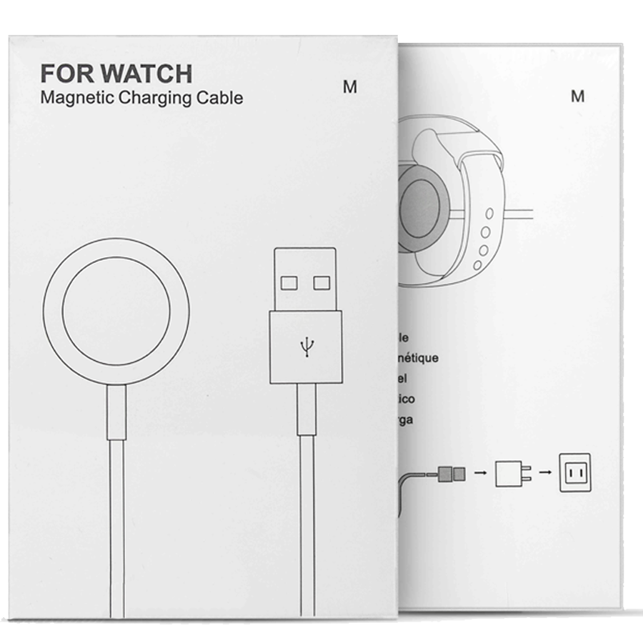 USB-Magnetic для Apple Watch белый